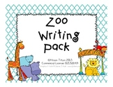 Zoo Writing Pack