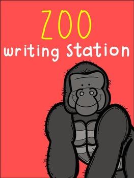 Zoo Writing Station