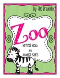 Zoo: Writing Webs and Journal Pages