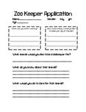 Zoo Writing (Zoo-Keeper Application & Guess My Animal)