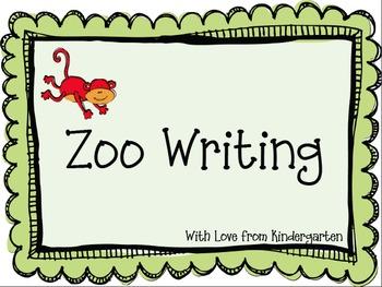 Zoo Writing {freebie}