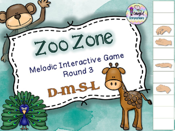 Zoo Zone - Round 3 (D-M-S-L)