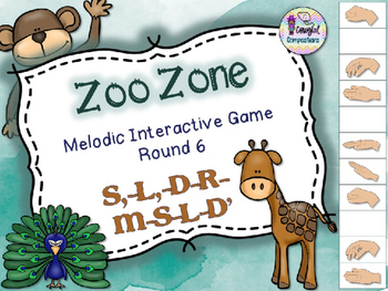 Zoo Zone - Round 6 (S,-L,-D-R-M-S-L-D')