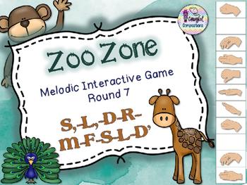 Zoo Zone - Round 7 (S,-L,-D-R-M-F-S-L-D')