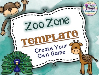 zoo zone template create your own game by cowgirl compositions