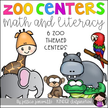 Zoo-a-licious math and literacy centers
