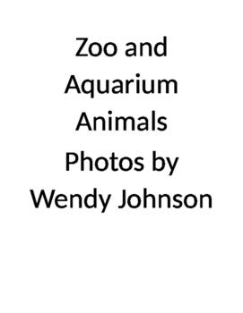 Zoo and Aquarium animals