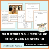 Zoo at Regent's Park - London England - History, Facts, Co