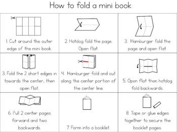 Zoo animal families mini book (simplified version)