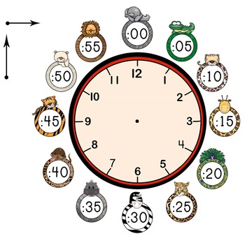 Zoo-per Wild About Learning to Tell Time