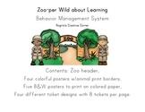 Zoo Theme Behavior Management System