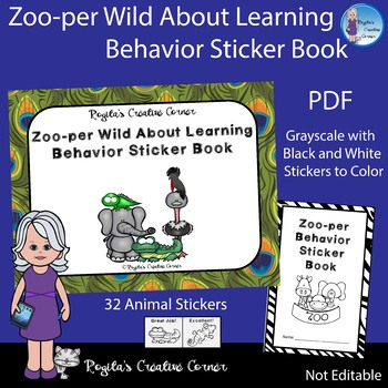 Zoo-per Wild about Learning Behavior Sticker Book