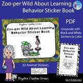 Zoo Theme Behavior Sticker Book