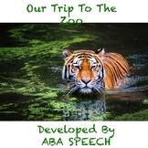Zoo trip adapted book