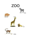 Zoo writing resource