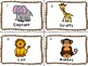 Zoo/Jungle Animal Write and Count the Room **Differentiated**