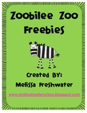 Zoobilee Zoo Freebies