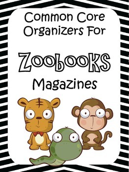 Zoobooks Magazine: ELA Brochure Activity