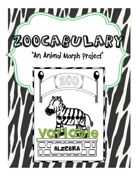 Zoocabulary: An Animal Morph Vocabulary Project