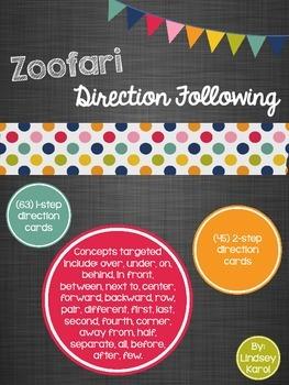 Zoofari Direction Following