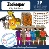 Zoo Kids Clipart