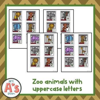 Zookeeper, Where's Your Key? Circle Time Game