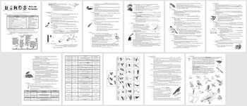 Bird Student Notes Handout, Review Questions, and Teacher Key (Biology& Zoology)