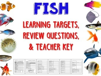 Zoology – Fish Learning Targets and Review Questions