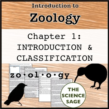 Zoology Textbook Chapter 1