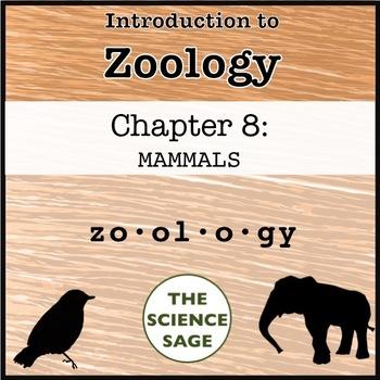 Zoology Textbook Chapter 8 Mammals