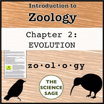Zoology Textbook Chapter 2 Evolution