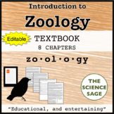Zoology Textbook (Editable) and Supplementary Materials
