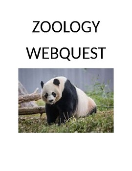 Zoology Webquest