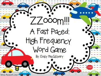 Zoom: A Fast Paced High Frequency Word Game