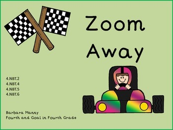 Zoom Away (multiplication/division/addition/subtraction review)