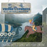 Zoom Battle Games Rangers/Rovers Aztecs/Aliens Vikings/Cow