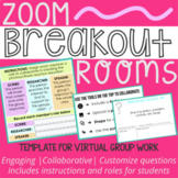 Zoom Breakout Rooms Template