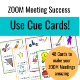 Zoom Expectations: CUE Cards!