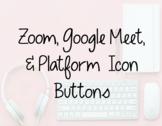 Zoom/Google Meet Icons