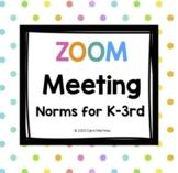 Zoom Meeting Rules