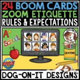 Zoom Meeting Rules BOOM Cards™