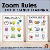 Zoom, Microsoft Teams, Google Meet Rules