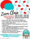 Zoom/Google Hangouts Online Class: Rules and Etiquette for