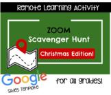 Zoom Scavenger Hunt- Christmas Edition!