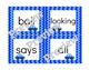 Zoom! Zoom! - 1st Grade Benchmark Literacy Phonics Sight Word Game