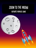 Zoom to the Moon (Author's Purpose Game)