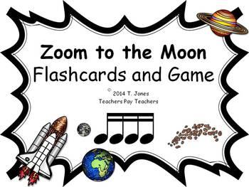 Zoom to the Moon tika-tika (Sixteenth) Notes (Music: Rhythm Concept Game)