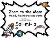 Zoom to the Moon Sol-Mi-La (Music: Melodic Concept Game)