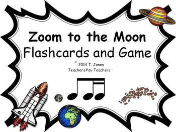 Zoom to the Moon Ti-tika (Music: Rhythm Concept Game)