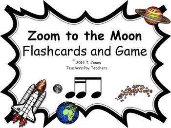 Zoom to the Moon Tika-ti (Music: Rhythm Concept Game)